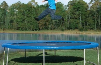 Pure Fun 14-Foot Trampoline Review