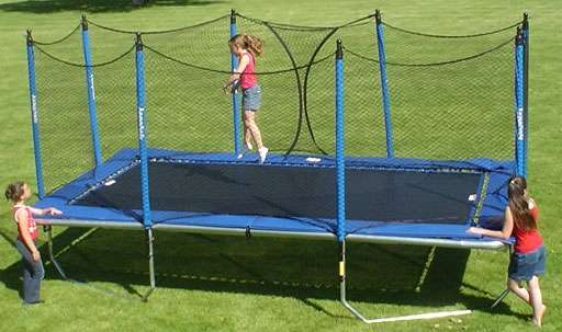 Rectangle Trampolines