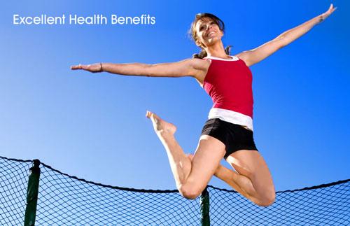 Trampoline Healthy Jump