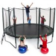AlleyOop 14' VariableBounce Trampoline with integrated Safety Enclosure Overview