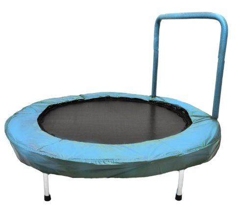 "Bazoongi 48"" Bouncer Trampoline with Handle Bar"