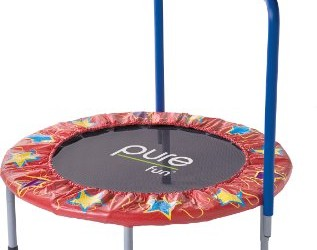Pure Fun 36-Inch Kids Mini Trampoline Overview