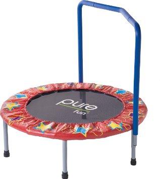 Pure Fun 36-Inch Kids Mini Trampoline Overview