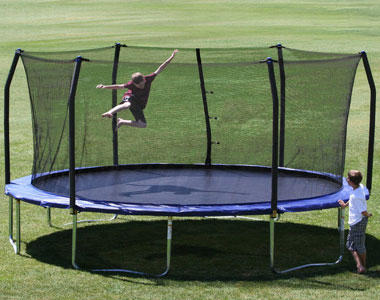 Skywalker Trampoline 17 ft. with Safety Enclosure