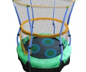 Skywalker Trampolines 40 In. Round Lily Pad Adventure Bouncer with Enclosure Overview