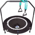 MaXimus Pro Quarter Folding Mini Trampoline Includes DVD Bar Bag Bands Weights Overview