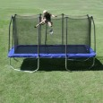 Skywalker Rectangle Trampoline with Enclosure, 15-Feet Overview