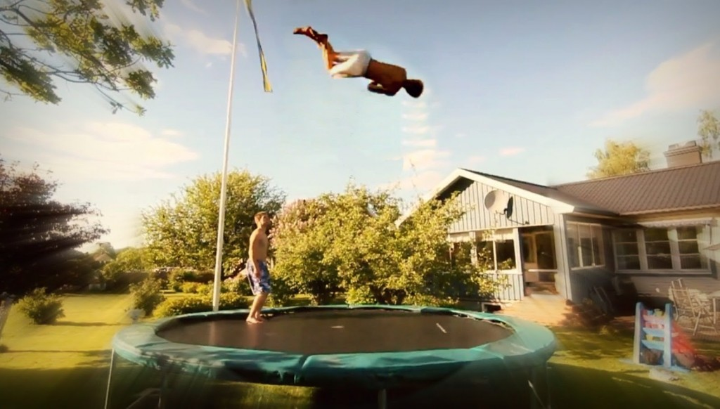 Cool Trampoline Tricks To Do At Home Easy To Learn For