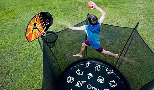 What is Trampoline Basketball Hoop & Goal?