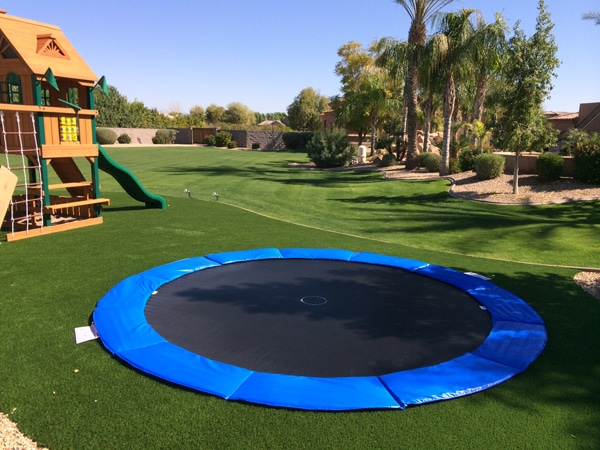 must have features of an in ground trampoline. Black Bedroom Furniture Sets. Home Design Ideas