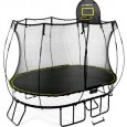 Springfree 8 x 11' Medium Oval Trampoline with Safety Enclosure