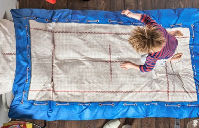 Old and Worn Out Mattresses Make Better Trampolines