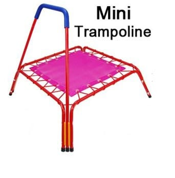 Trampoline for Kids with Bar