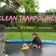 Clean Trampolines