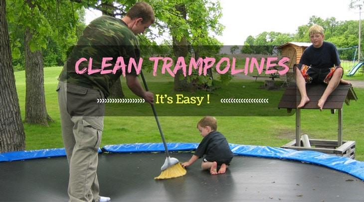Clean Trampolines