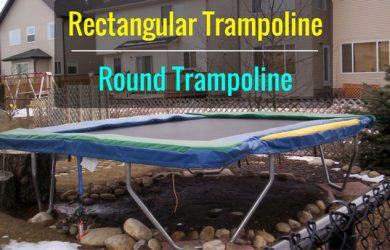 Rectangle vs. Round Trampoline
