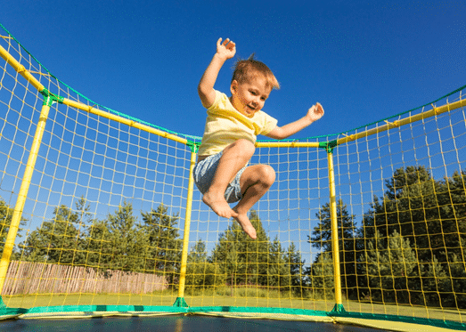 the history of trampoline