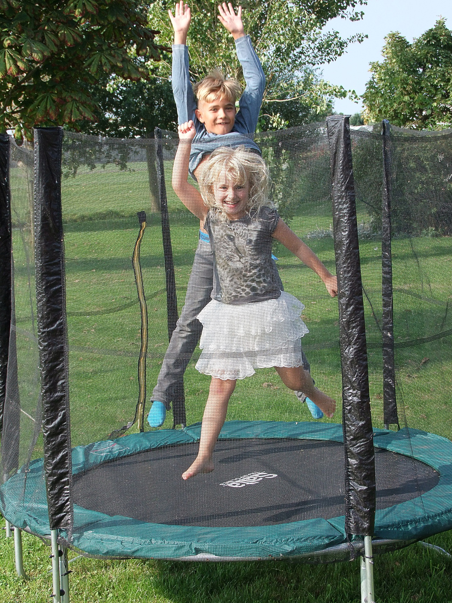 What is the relationship between trampoline and sport