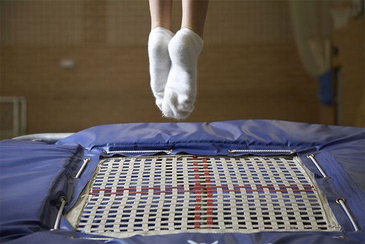 best rectangle trampoline for tumbling