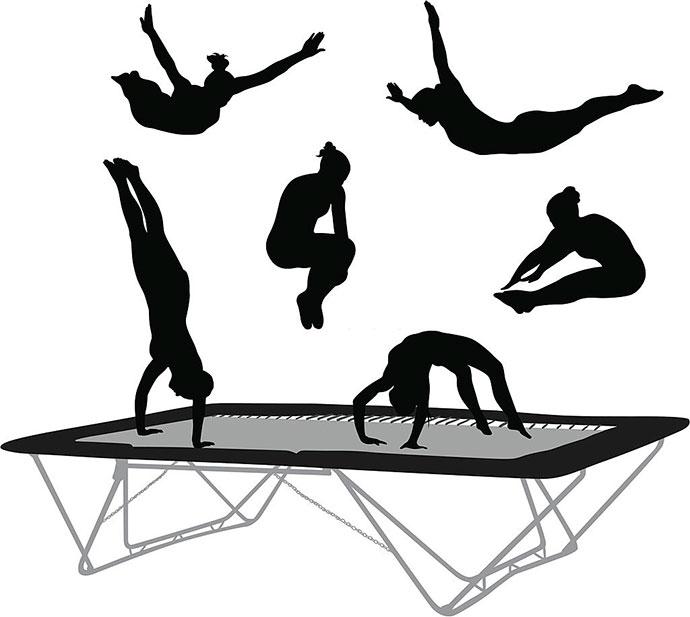 best rectangle trampoline for gymnastics