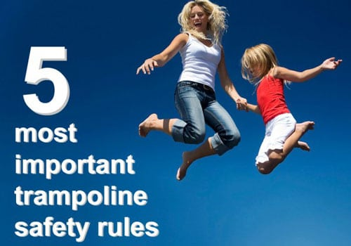 trampoline park safety tips
