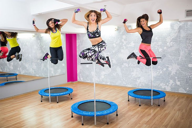 mini trampoline exercise benefits
