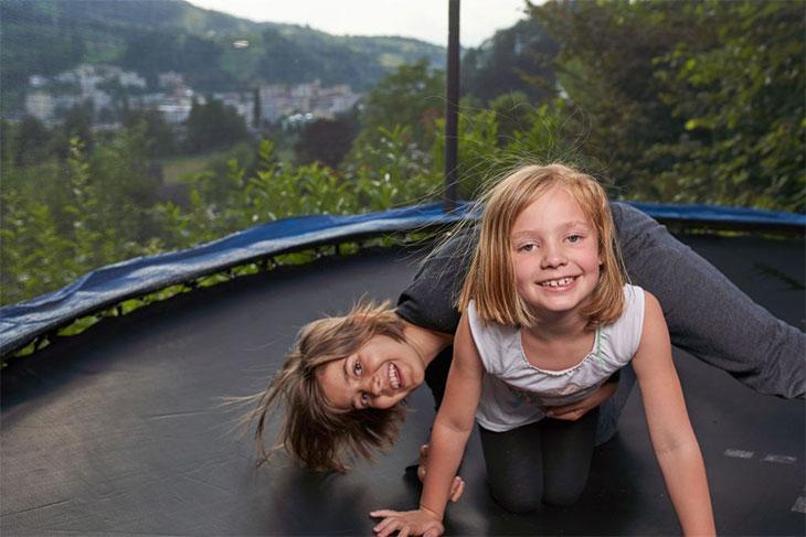 big trampoline weight limit