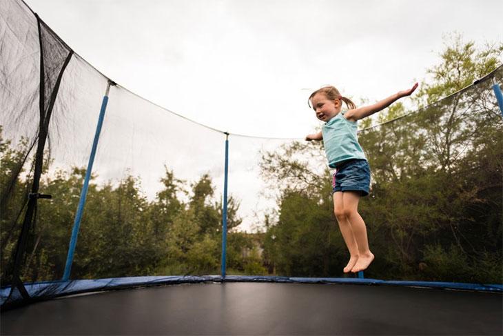 kid active trampoline weight limit