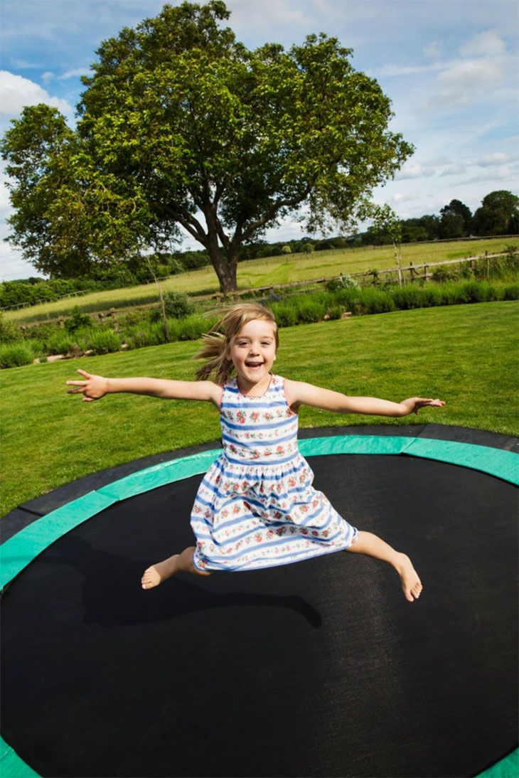 pros and cons of ground trampoline