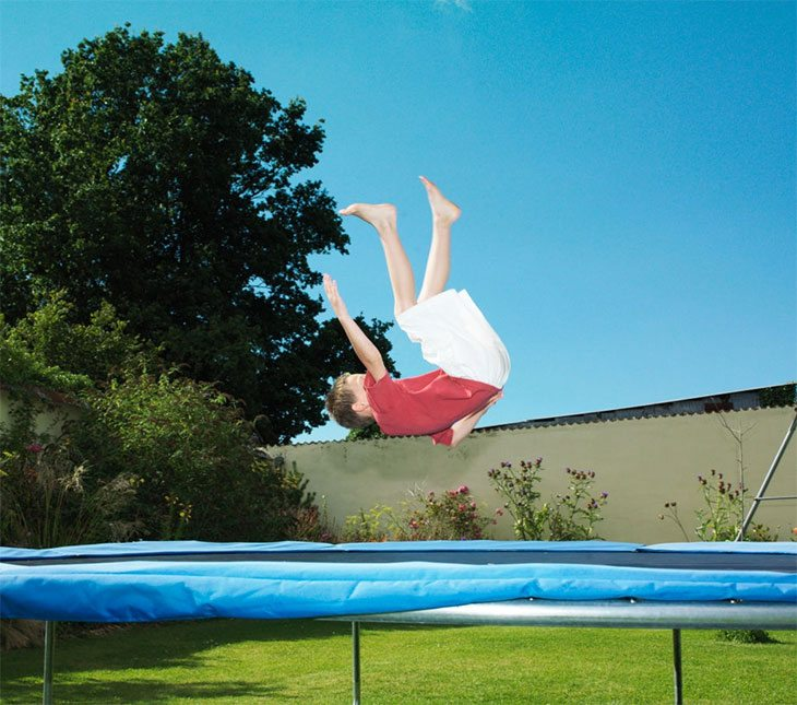best trampoline spring pads