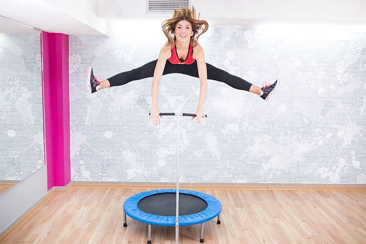 small trampoline exercise benefits