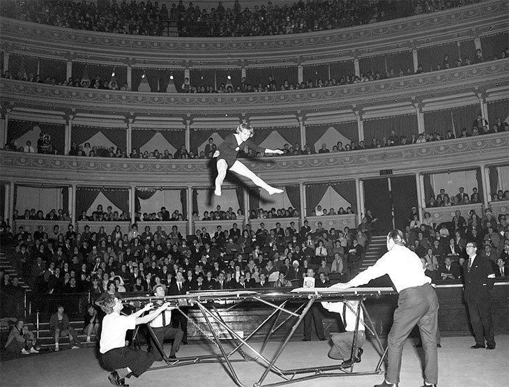 trampoline olympics history