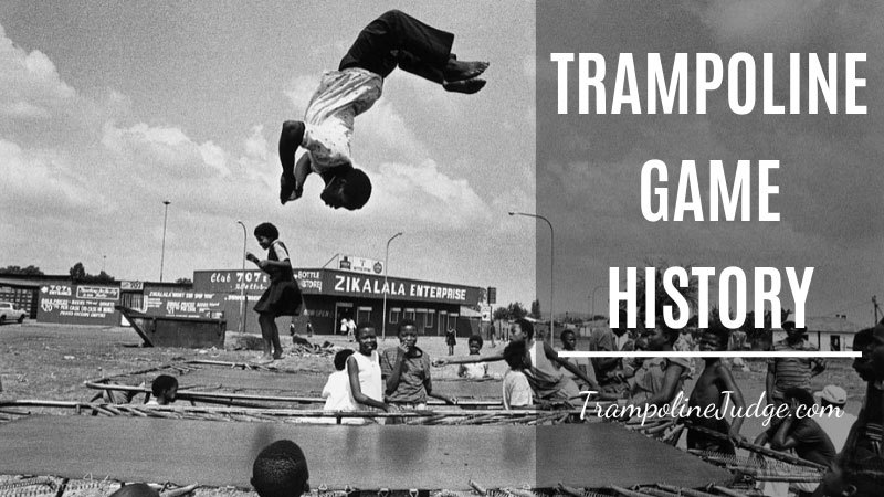 trampoline game history